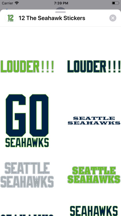 12 The Seahawk Stickers screenshot-2