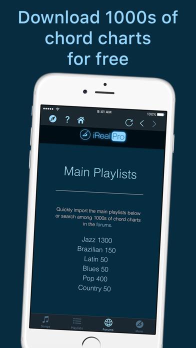 iReal Pro Screenshot