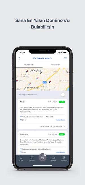 Domino S Pizza Turkiye On The App Store