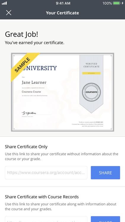 Coursera: Learn new skills screenshot-5