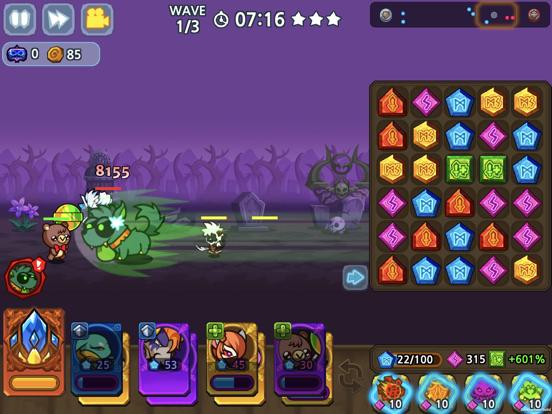 パズル&ディフェンス:Match 3 Battleのおすすめ画像6