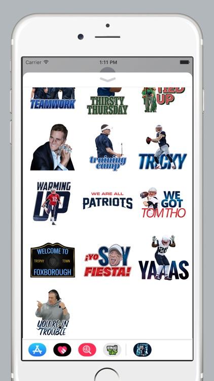 Patriots Stickers screenshot-4