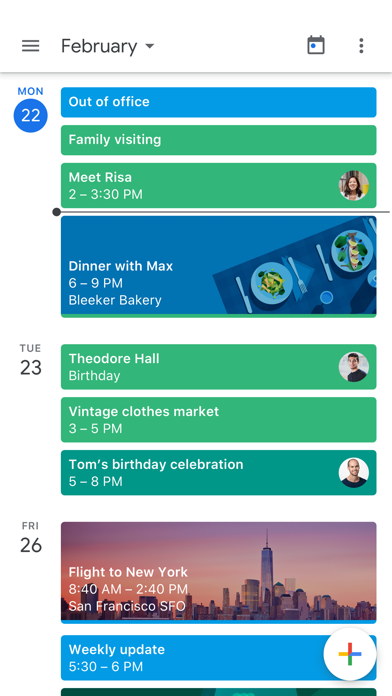 Google Calendar: Time Planner Screenshot