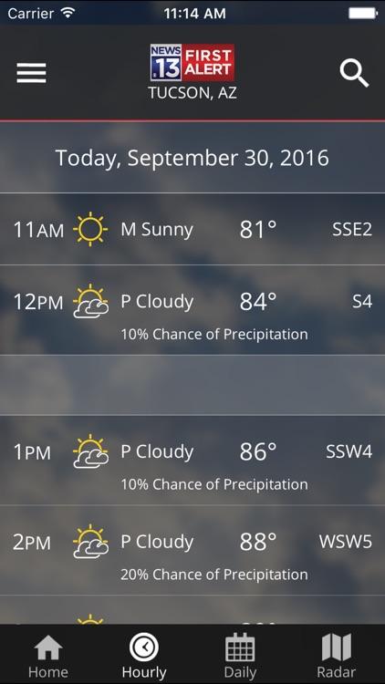 KOLD First Alert Weather screenshot-4