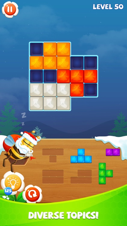 Blockdom: Hexa,Triangle,Square screenshot-2