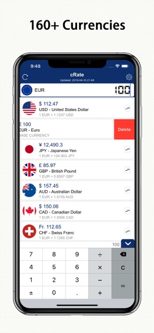 ‎DayRate Pro - Currency Convert Screenshot