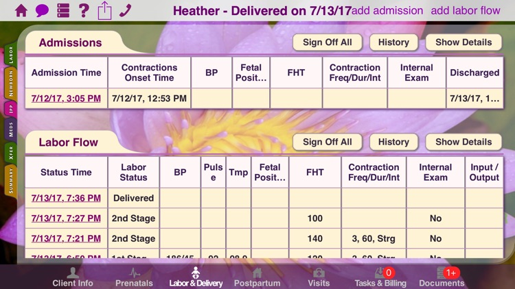 Mobile Midwife EHR screenshot-4