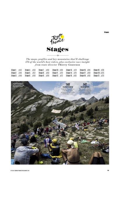 Official Tour de France Guide screenshot two