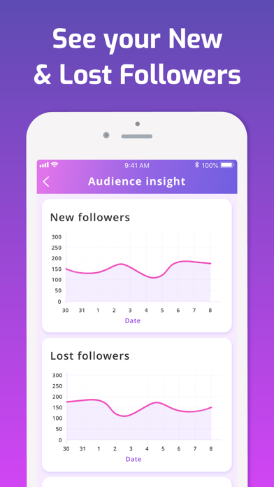 iMetric Analytic for Instagram Screenshot