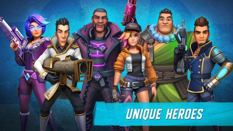 Heroes of Warland: Team FPS