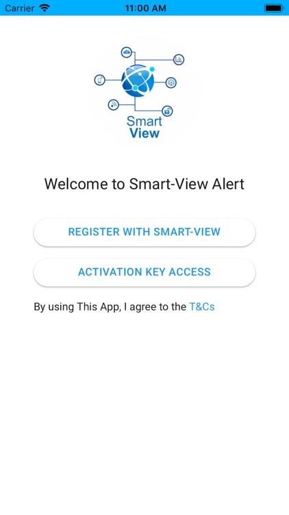 SmartView Alert