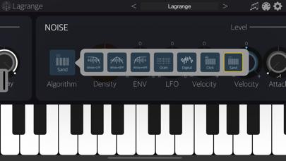 Lagrange Synthesizer