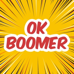 Ok Boomer - Animated Stickers