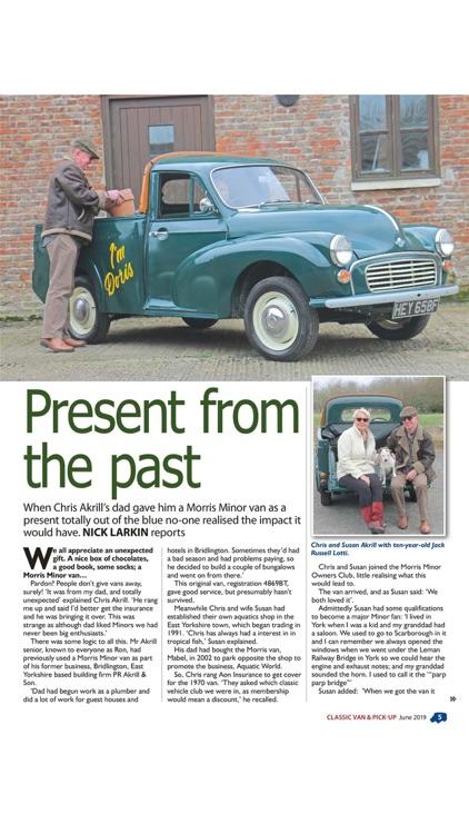 Classic Van & Pick Up Magazine screenshot-4