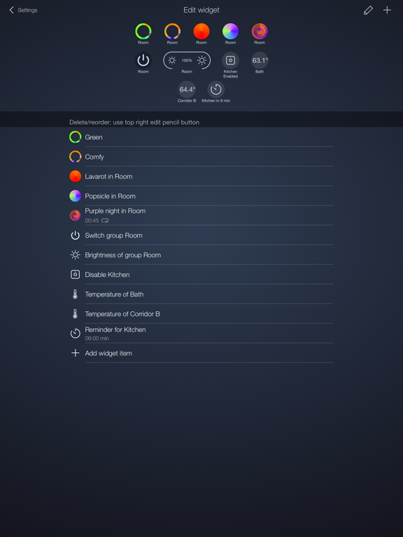 iConnectHue for Philips Hue screenshot 11