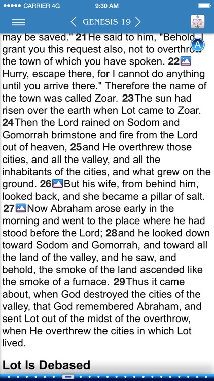 Photo Illustrated Bible NASB screenshot-0