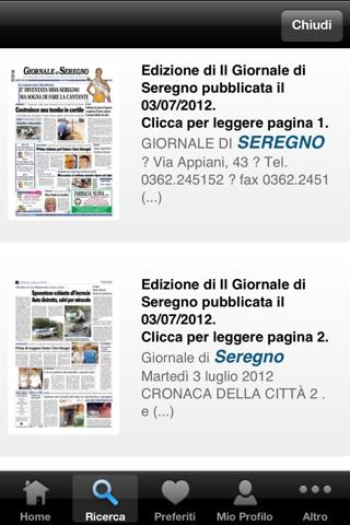 Il Giornale di Seregno - náhled