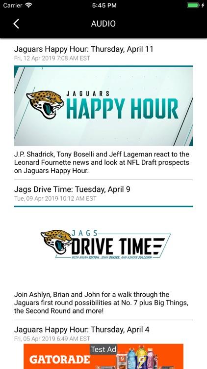 Official Jacksonville Jaguars screenshot-5