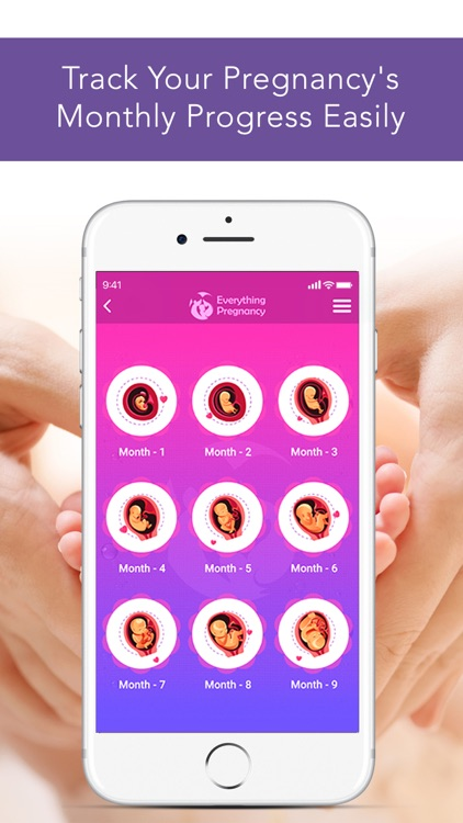 Everything Pregnancy App