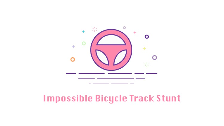 Impossible Bicycle Track Stunt