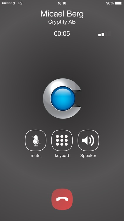 Cryptify Call
