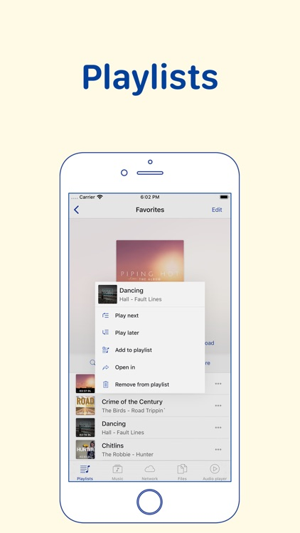 YaPlayer: cloud music streamer screenshot-2