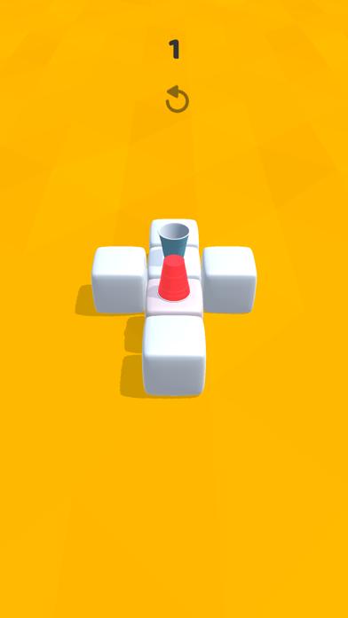 Cup Puzzle 3D Screenshot