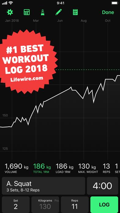 HeavySet - Gym Log | App Price Drops