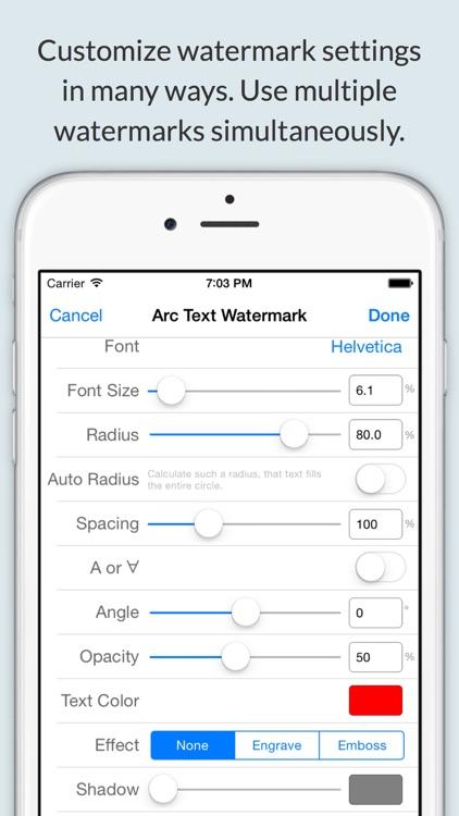Watermark With iWatermark+ screenshot-3