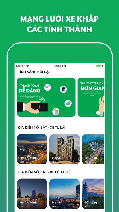 MIOTO - Ứng dụng thuê xe screenshot three