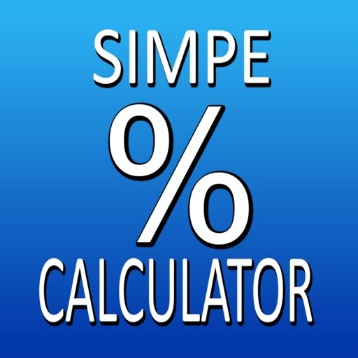 Simple percentage calculator