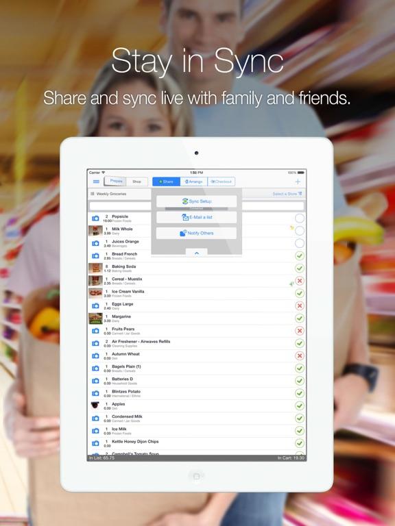 Grocery Gadget iPad
