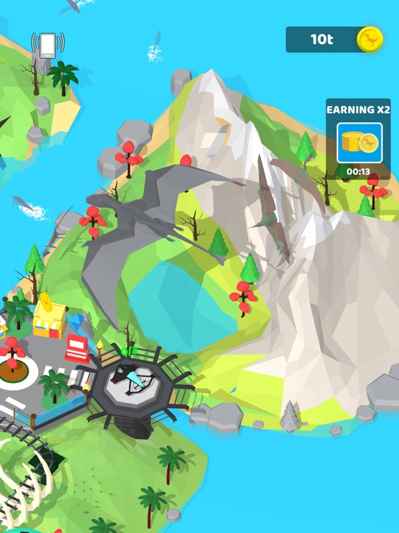 Idle Dino Theme Park screenshot 9