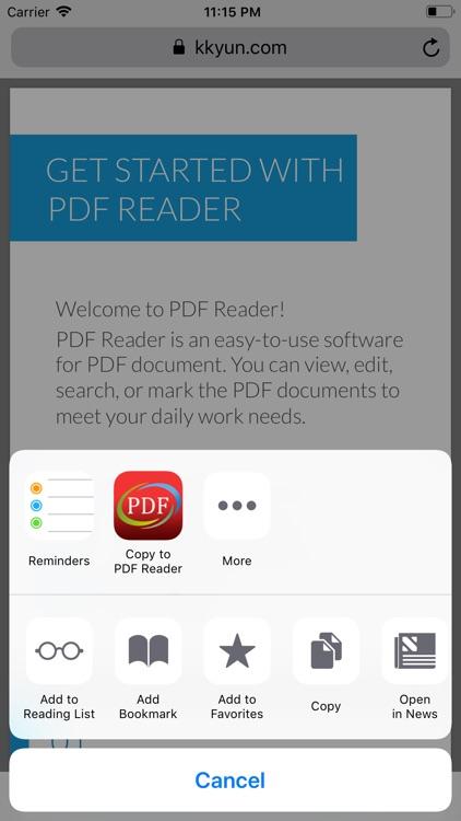 PDF Reader - Edit And Manage