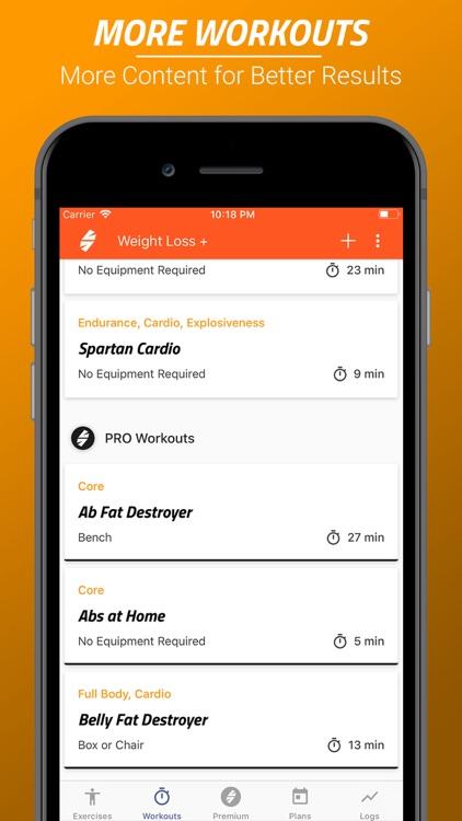Spartan Weight Loss screenshot-3