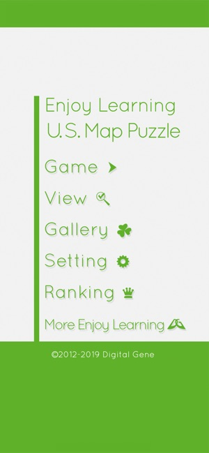 Enjoy Learning U.S. Map Puzzle on the App Store