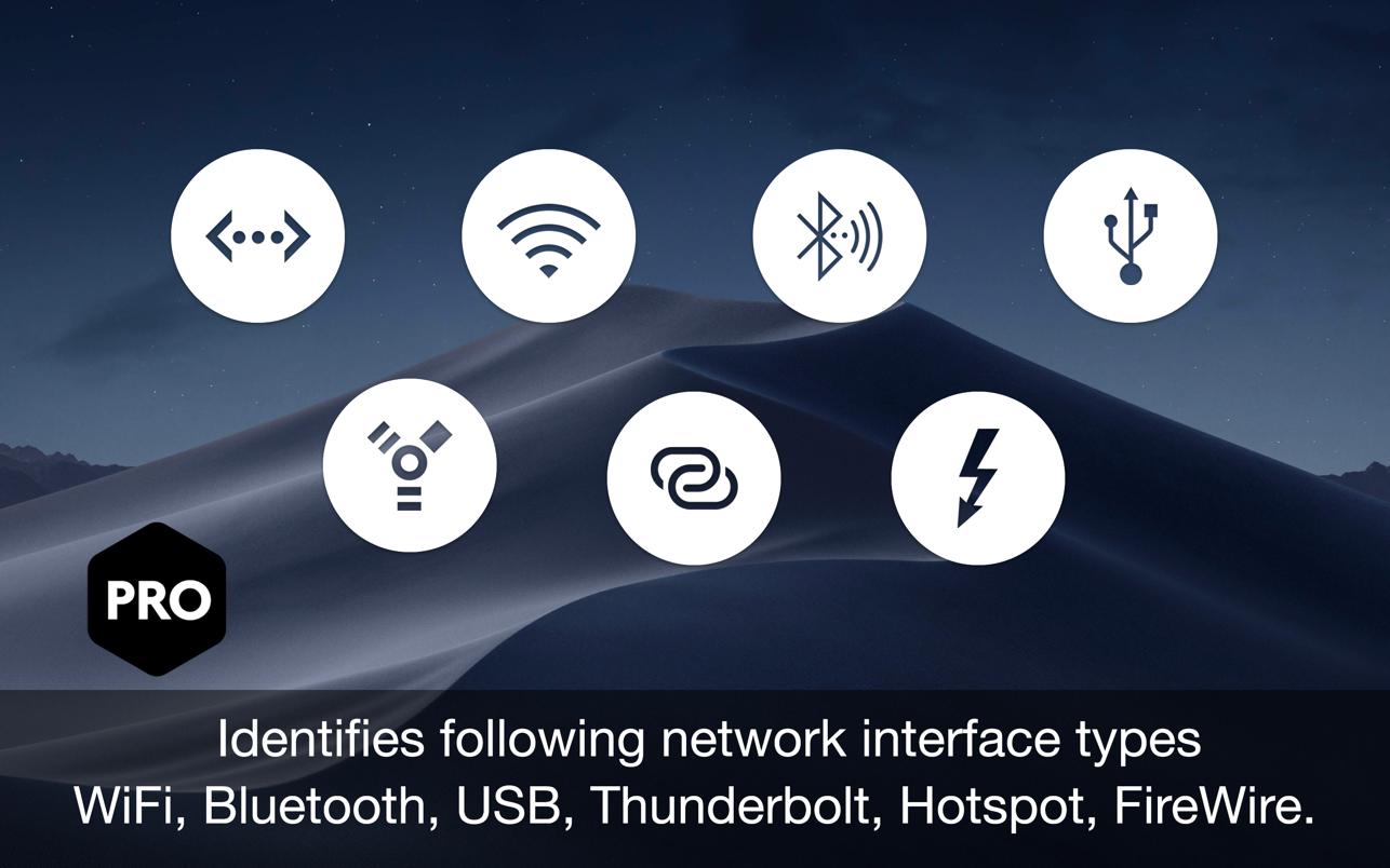 Ethernet Status Lite 5.3 Mac 破解版 以太网-LAN网络连接状态