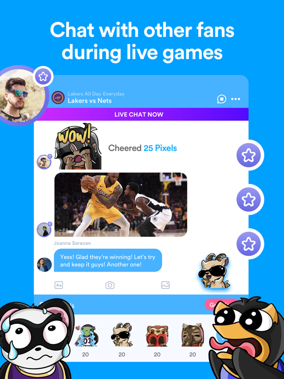 FlickChat - for Sports Fans screenshot
