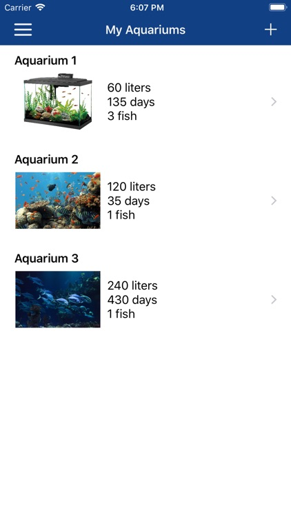 Aquarium Manager screenshot-0