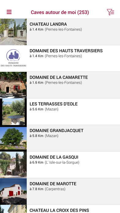 Vignerons indé Vallée Rhône screenshot three