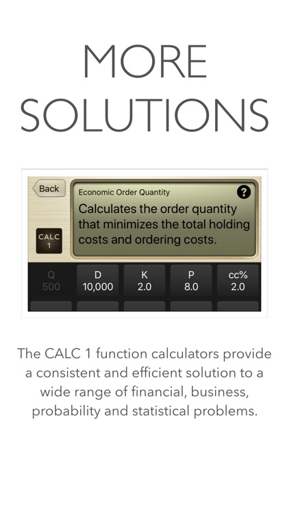 CALC 1 Financial Calculator screenshot-5