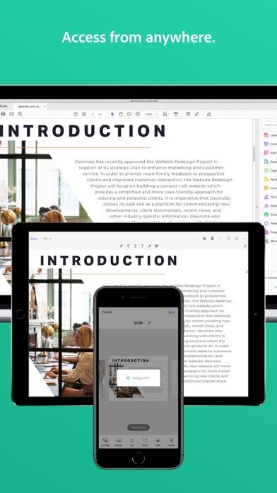 Adobe Scan: Document Scanner Screenshot
