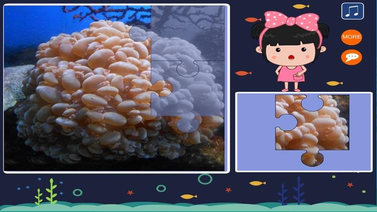 丫丫海洋动物拼图-智力开发游戏