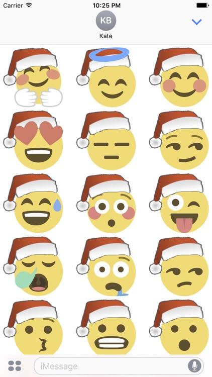 Santa Emoji screenshot-4