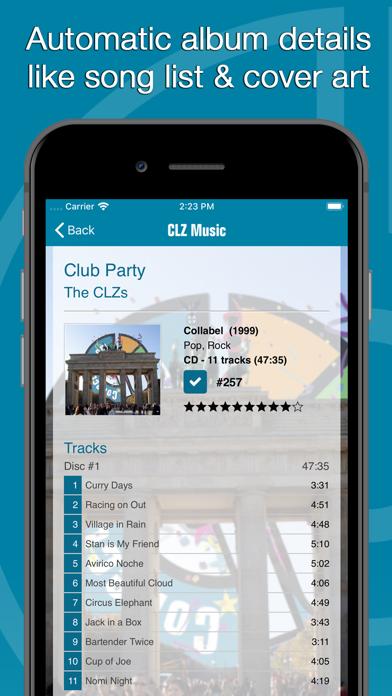 Screenshot #2 pour CLZ Music - Music Database