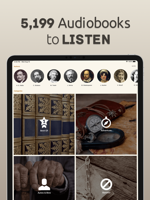Free Books - 23,469 Classics To Go - The Ultimate Ebooks And Audiobooks Library In Your Pocket screenshot