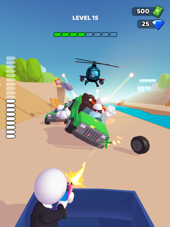 Rage Road - Car Shooting screenshot 7