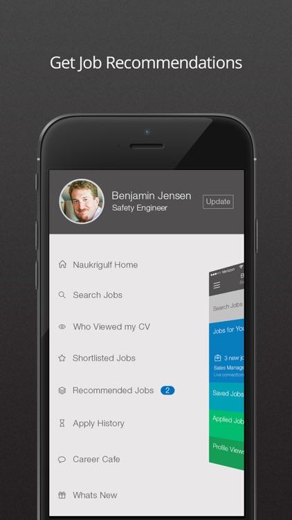 Naukrigulf Job Search App screenshot-3