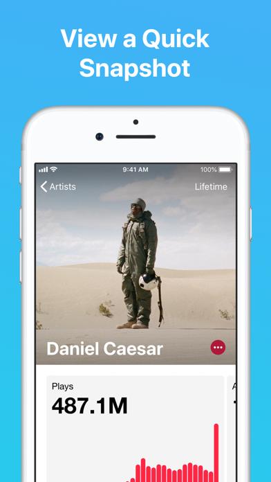 Apple Music for Artists Screenshot