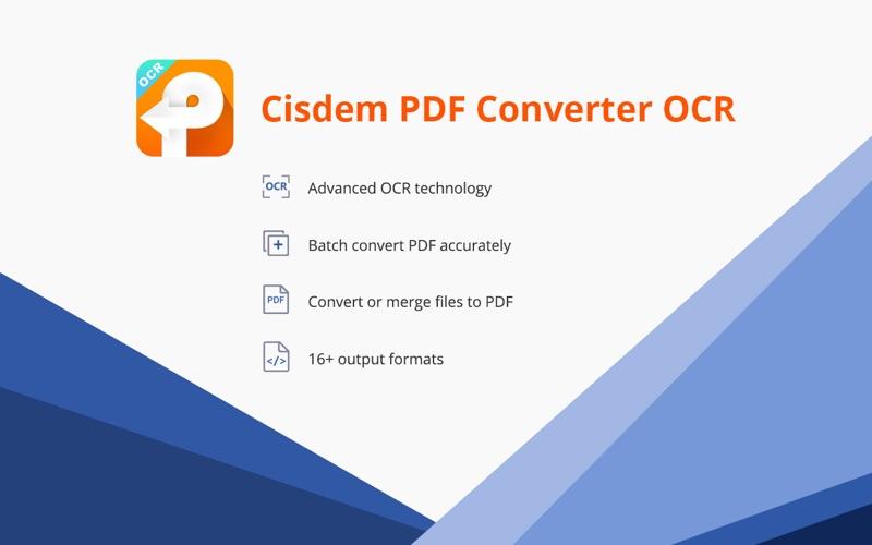 PDF Converter OCR Screenshots